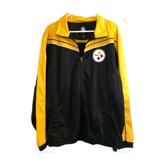 new product 2c759 229ab Size XL NFL STEELERS windbreaker jacket